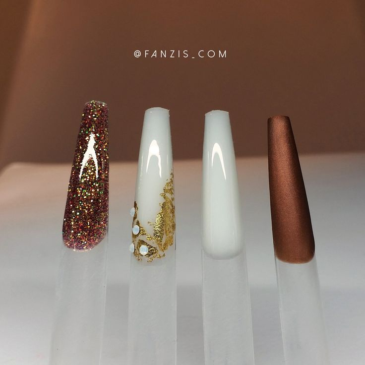 #brown #metallic #gold #nailart #nailideas #nailinspiration #fall #nails