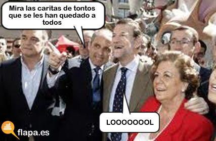 Mira la carita de tontos que se les ha quedado a todos. #apoyoagarzón