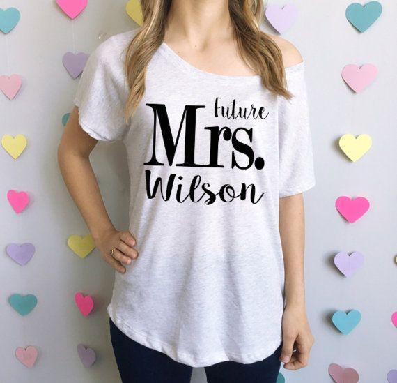Tee-shirt ample avenir Mme. T-Shirt de la par BrideAndEntourage