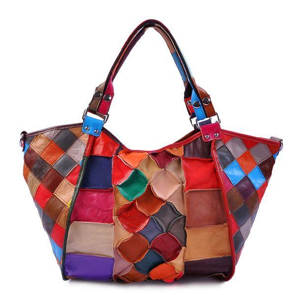 Come fare borse patchwork