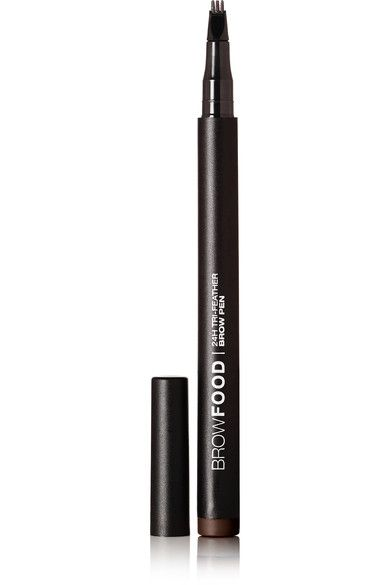 LashFood - 24h Tri-feather Brow Pen - Bold Dark Brunette - Dark brown - one size