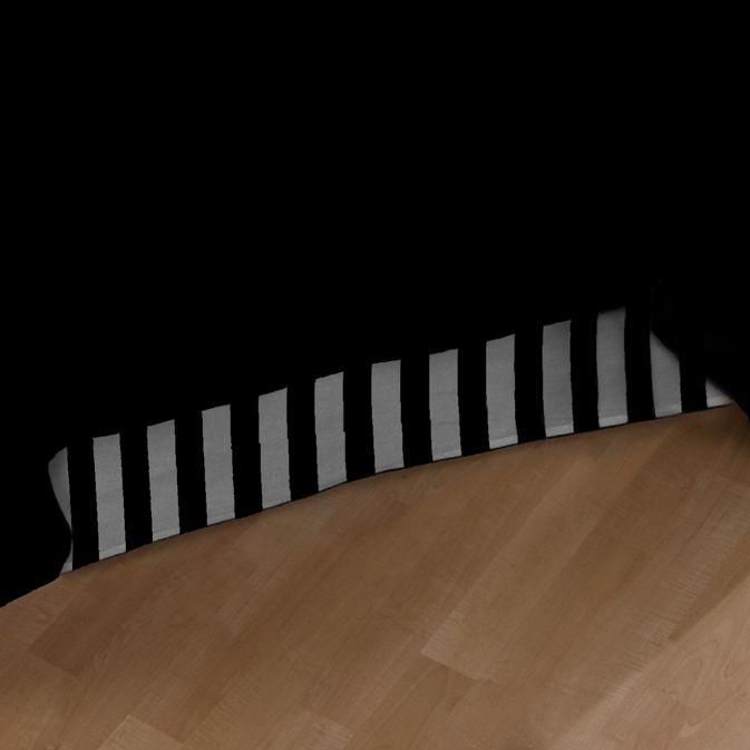 Black And White Striped Bed Skirt 27