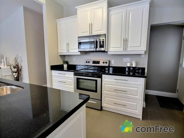 Check Out This Kitchen In Hamilton ComFree White Cabinets