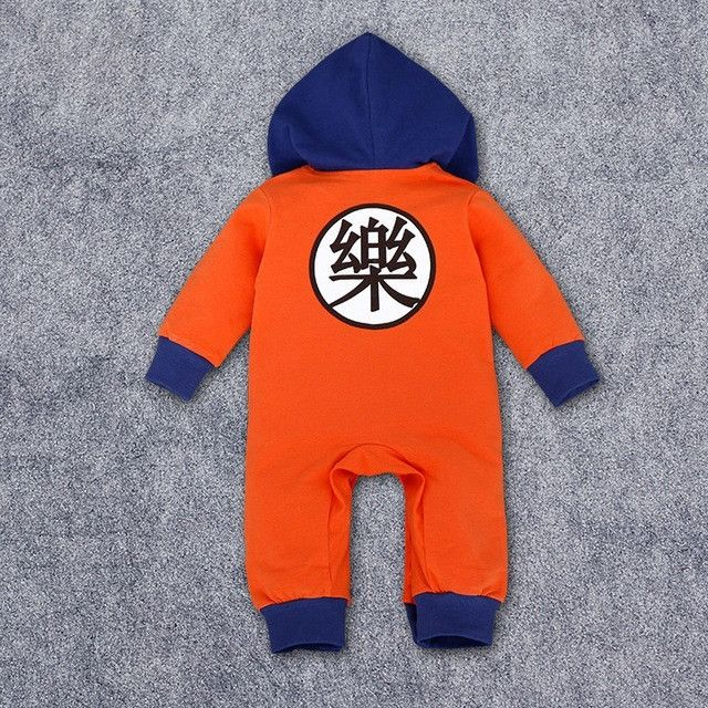 Dragon Ball Z Baby Rompers Newborn