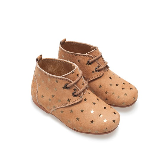 Faux leather boot Shoes Baby girl Kids ZARA United
