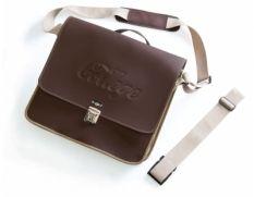 Schouder tas Selle Monte Grappa Messengerbag Skai-Leer Donker-Bruin. Voor maar €60,95 u betaald geen verzendkosten!!