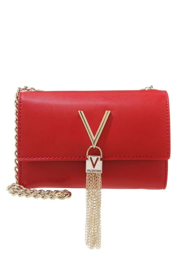 Valentino by Mario Valentino DIVA czerwona kopertówka rosso
