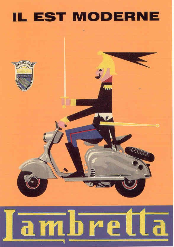 vintage lambretta posters - Cerca con Google