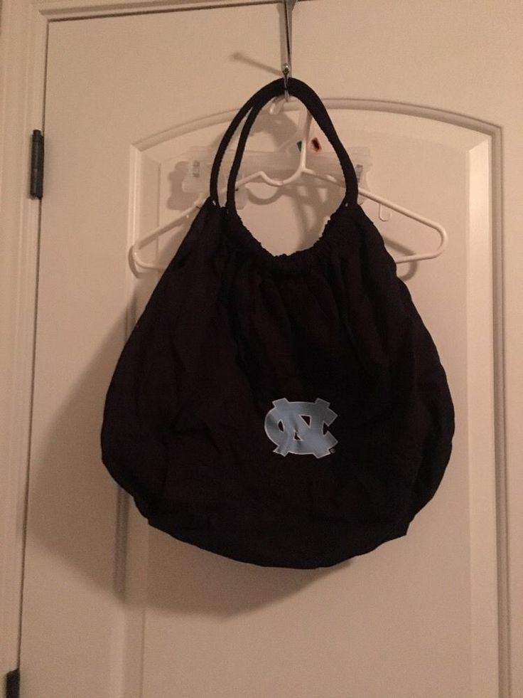 North Carolina Tarheels Womens Medium Purse Handbag Pocket Book Black Bag #Unbranded #Handbagpurse