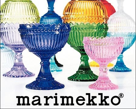 Finnish Maribowls by Marimekko and iitala.  I'd use mine for condiments or desserts.  Sooo gorgeous in person!