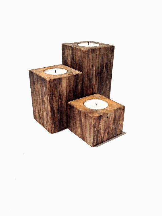 Pinterest the world s catalog of ideas - Unfinished wood candlestick holders ...