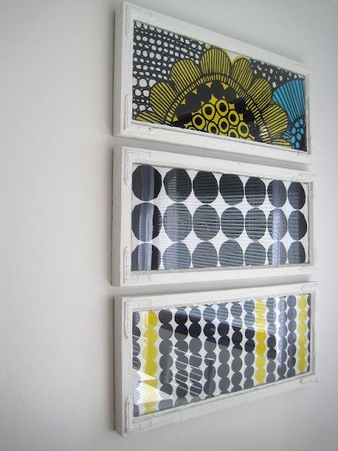 Marimekko fabric DIY