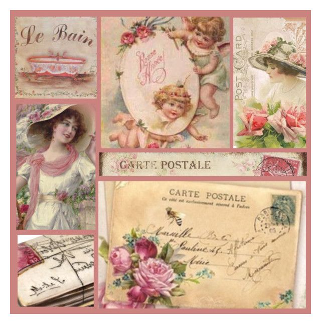 """""""Carte Postale..."""" by zansi ❤ liked on Polyvore featuring art"""