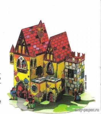 Stredoveky hrad [АВС 1/2007] из бумаги, модели бумажные скачать бесплатно - Замок - Архитектура - Каталог моделей - «Только бумага»