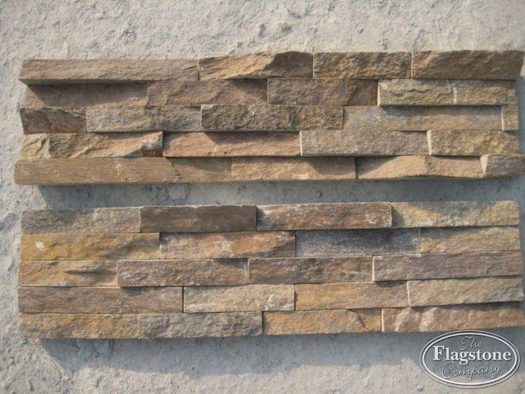 CH Rustiek - Brons Kwarstiet panelen - natuursteenstrips.
