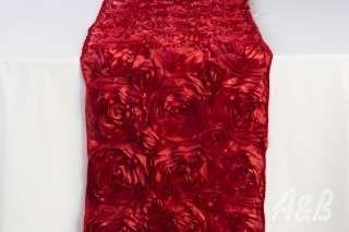 Red Rose Table Runner