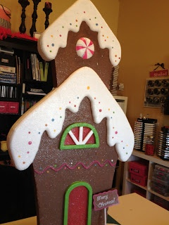 Gingerbread house:  Prettify Your Life