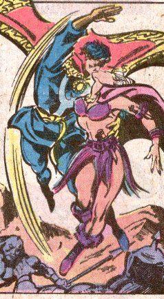 Clea (Dr. Strange's wife, Defenders member)