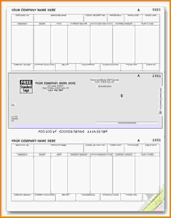 Free Blank Pay Check Stubs Template | 10+ Free Printable Paycheck Stubs |  Letter Template  Blank Pay Stubs Template