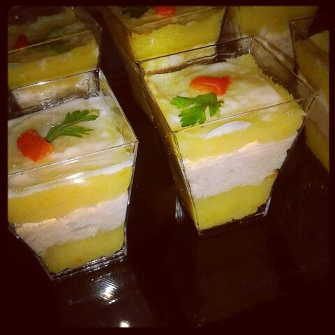 Shots de causa limeña
