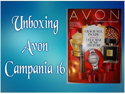 Cerasela Blog: Unboxing Avon Campania 16/2016