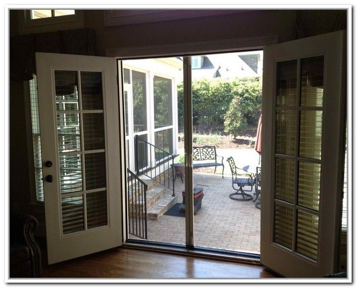 9 best ideas for the house images on pinterest exterior - Exterior door with screen built in ...