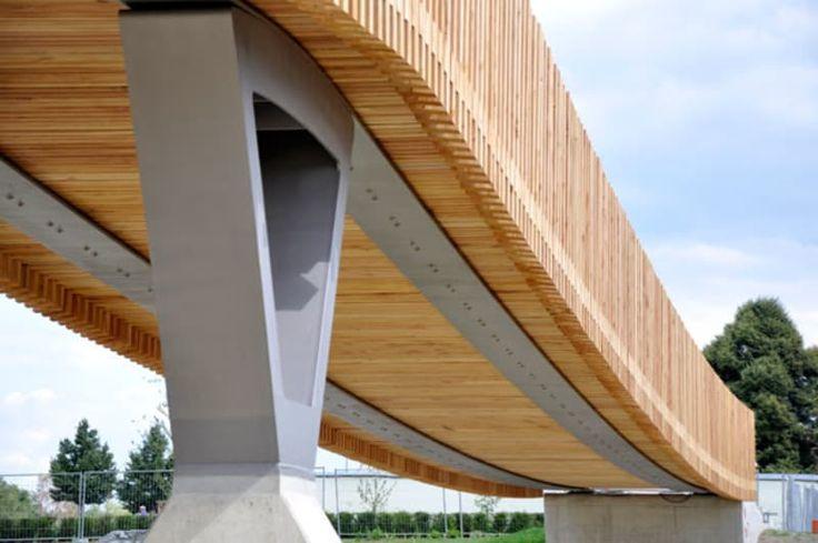 """ANNABAU Architektur und Landschaft · Tension Band Bridge """"Max-Gleissner-Brücke"""" in Tirschenreuth"""