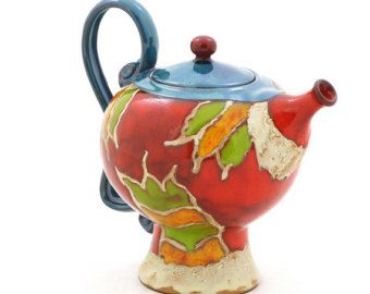 The 13 best images about easter gifts on pinterest ceramics ceramic teapot pottery teapotgift for her small teapot one man teapot art pottery teapot unique quirky teapotstoneware teapot 17oz negle Image collections