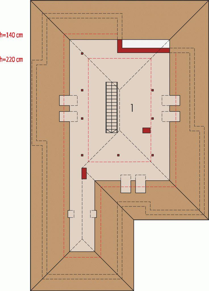 Prizemna kuća sa prostranom terasom i garažom (DETALJAN PLAN)