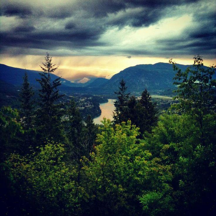 The view point, Castlegar, BC