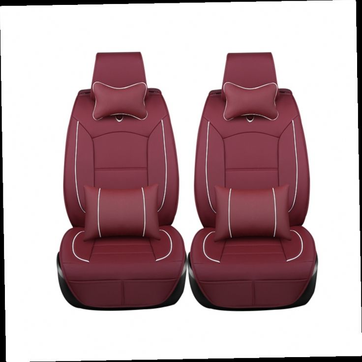 53.39$  Buy here - http://alienr.worldwells.pw/go.php?t=32785985979 - 2 pcs Leather car seat cover For Honda Accord 2006 2011 FIT CITY CR-V XR-V Odyssey Element Pilot Car Accessories styling black