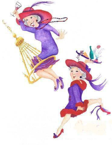 Showing post & media for Red hatters lady cartoons | www ...