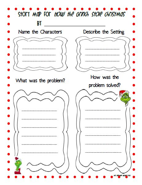 Mrs. Brinkman's Blog: How the Grinch Stole Christmas