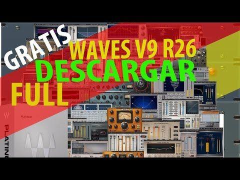 awesome descargar waves gratis waves V9 r26 full  crack rtas  vst  free Free Download Crack VST
