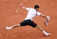 French Open: Novak Djokovic lost the first set to Roberto Bautista Agut at a rain-delayed match