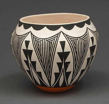 Pottery Bowl by Debbie Brown (Acoma)