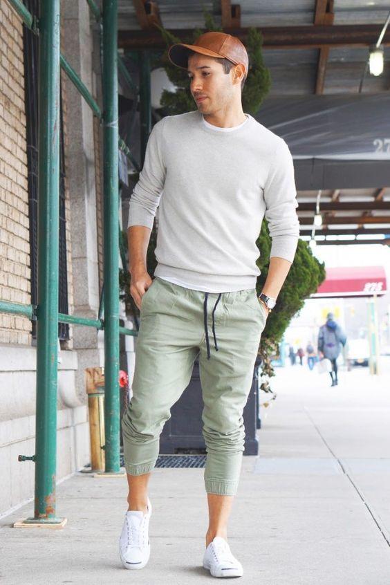Latest dress style for men 2018 jogger