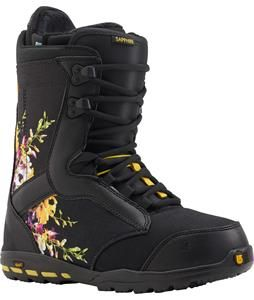 Burton Sapphire Snowboard Boots: Women's Freestyle Snowboard Boots Review