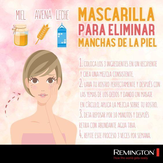 Si tienes manchas en la piel, no dudes en elaborar y aplicarte esta maravillosa…: