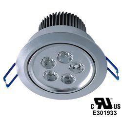 5W  White LED Ceiling Light Indoor Decor Downlight Bulb AC 110V-240V