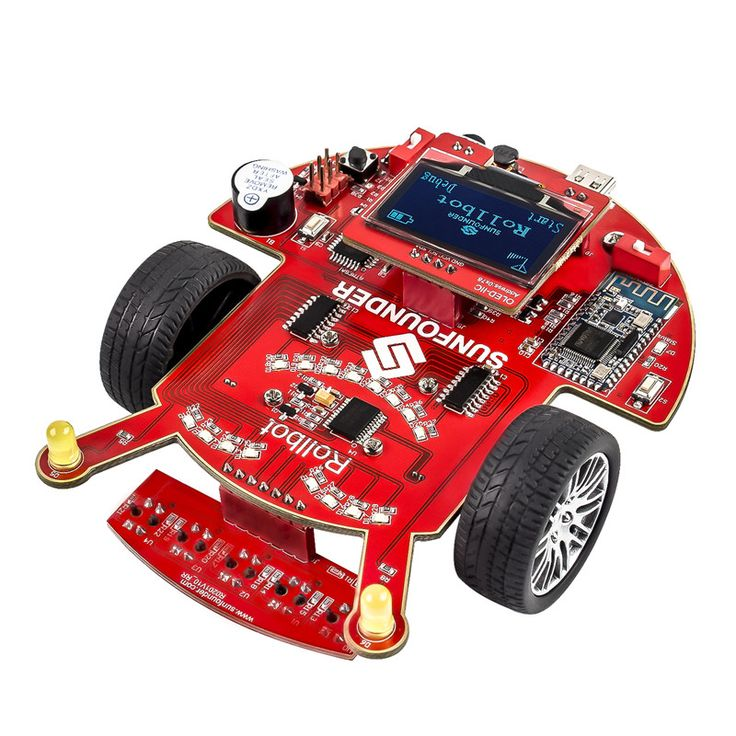 >> Click to Buy << SunFounder SF-Rollbot STEM Learning Educational DIY Robot Kit GUI-Mixly for Arduino Beginner Bluetooth Module Infrared Sensor  #Affiliate