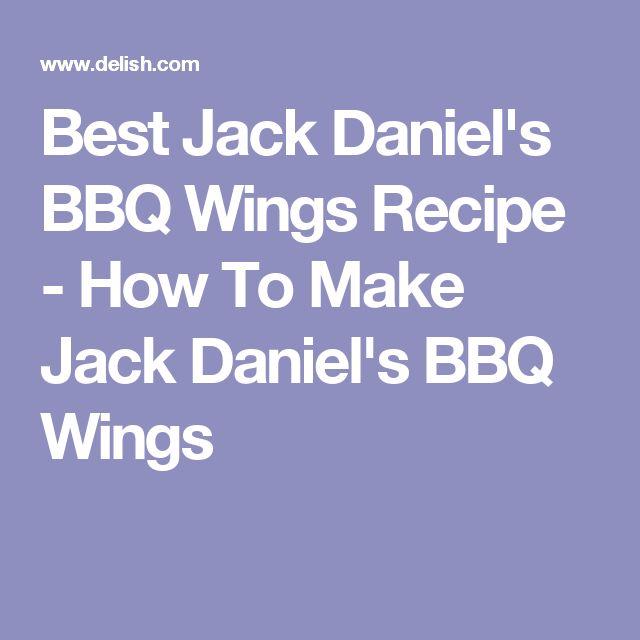 Best Jack Daniel's BBQ Wings Recipe - How To Make Jack Daniel's BBQ Wings