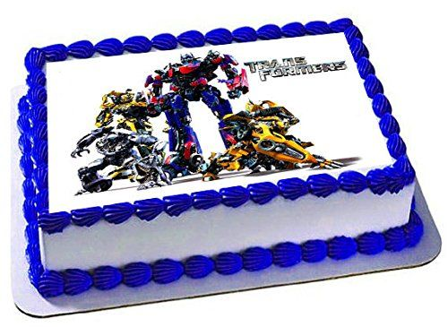 Transformers emblem Cake Edible 14 Sheet Image Topper Birthday Party Favor Movie -- To view further for this item, visit the image link.Note:It is affiliate link to Amazon.