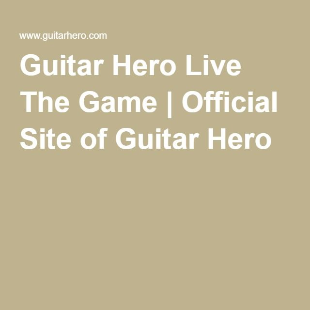 Guitar Hero Live The Game | Official Site of Guitar Hero
