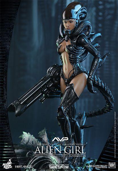 Alien VS Predator Alien Girl Sixth Scale Figure http://geekxgirls.com/article.php?ID=6005