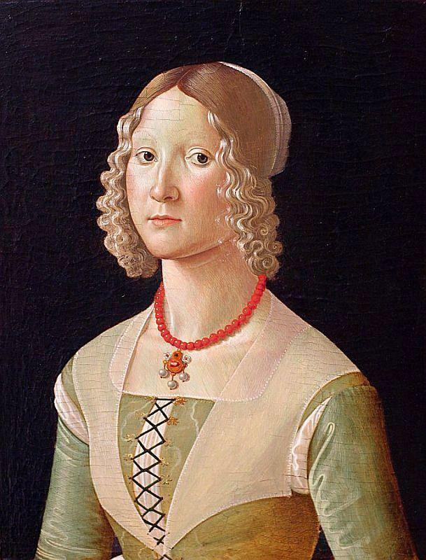 Domenico Ghirlandaio (1450-1494): Portrait of a Woman