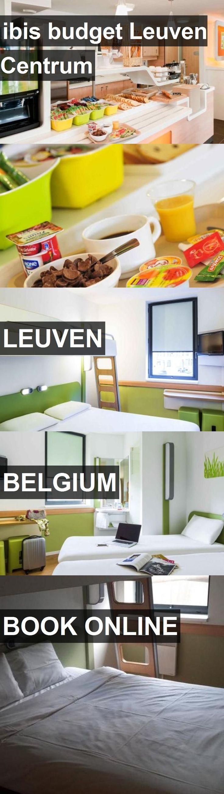 Hotel ibis budget Leuven Centrum in LEUVEN, Belgium. For more information, photos, reviews and best prices please follow the link. #Belgium #LEUVEN #travel #vacation #hotel