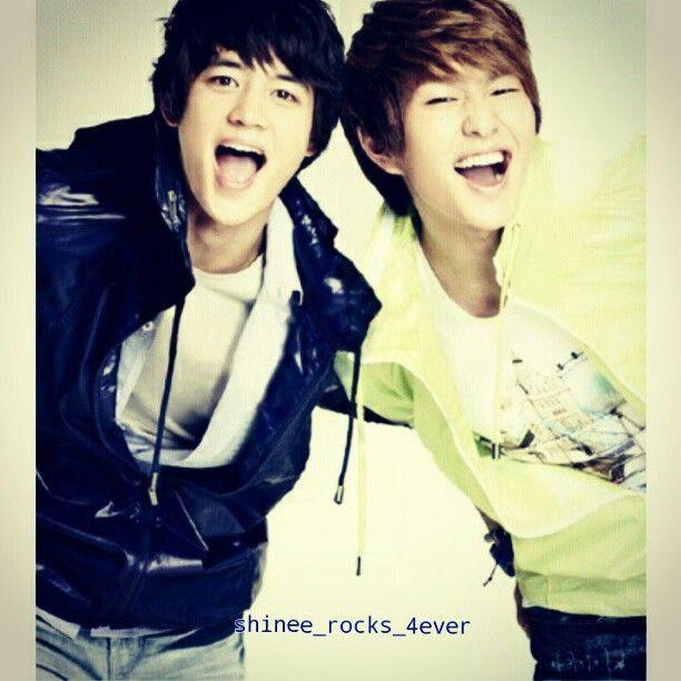 Minho and Onew #SHINee