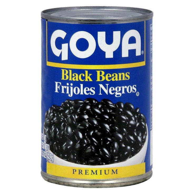 Goya Black Beans 15.5 oz, Vegetables