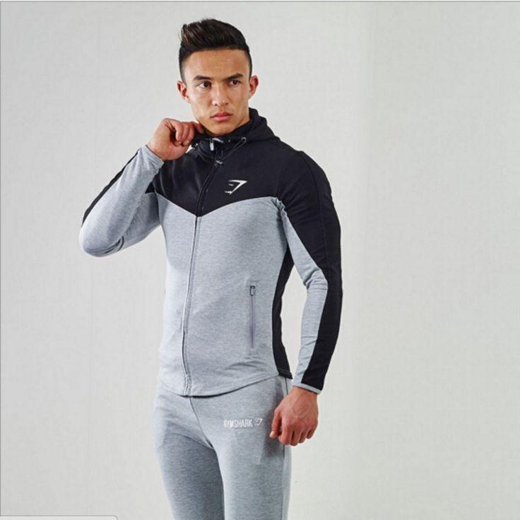 2015 Gymshark sudaderas con capucha camisetas gimnasio masculina hombre culturismo y fitness camisetas de los Hoodies hombres musculosos de ropa deportiva en Sudaderas de Moda y Complementos Hombre en AliExpress.com | Alibaba Group